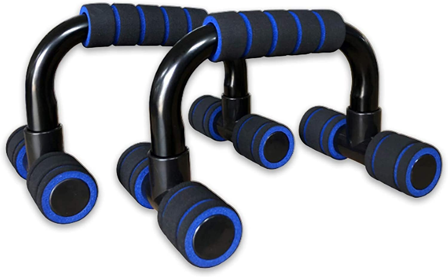 CARSA Push Up Handles for Floor,Home Workout Push Up Bars Stands with Cushioned Foam Grips & Slip Resistant Base for Muscle Ups, Pull Ups & Strength,for Both Men & Women Strength Workouts