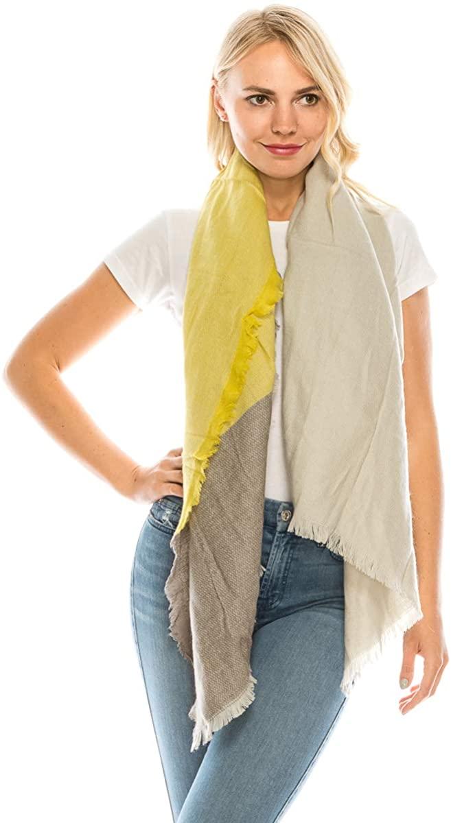 Women's Fashion Scarf Long Shawl Wraps Acrylic Warm Soft Large Blanket Scarves