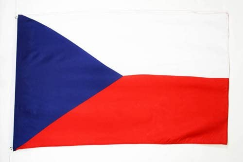 AZ FLAG Czech Republic Flag 3' x 5' - Czech Flags 90 x 150 cm - Banner 3x5 ft