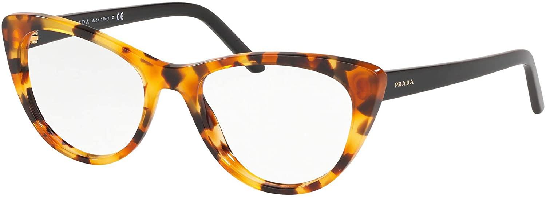 Eyeglasses Prada PR 5 XV UF31O1 ORANGE HAVANA