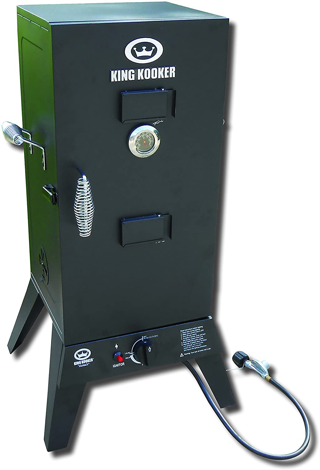 King Kooker 4010060 2113-Low Pressure Smoker with 30 Cabinet, One Size, Multicolor