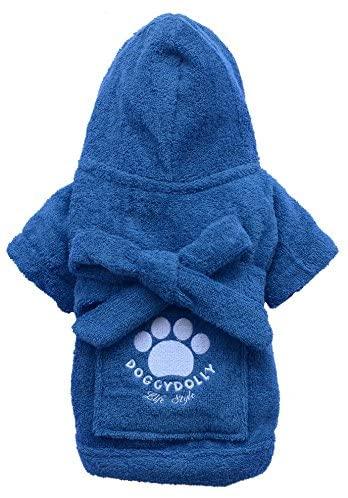 Robe Blue Drf019-Xxl From Doggydolly