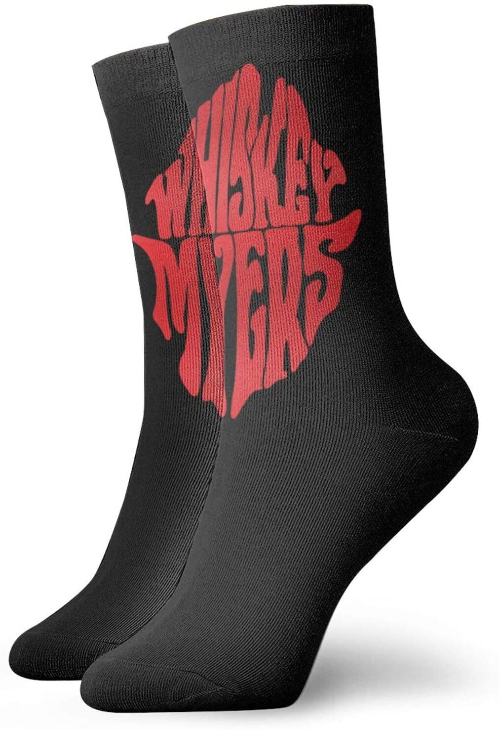 JaoStep Whiskey Myers  Fashion Crew Socks Personalized Unisex Socks White One Size