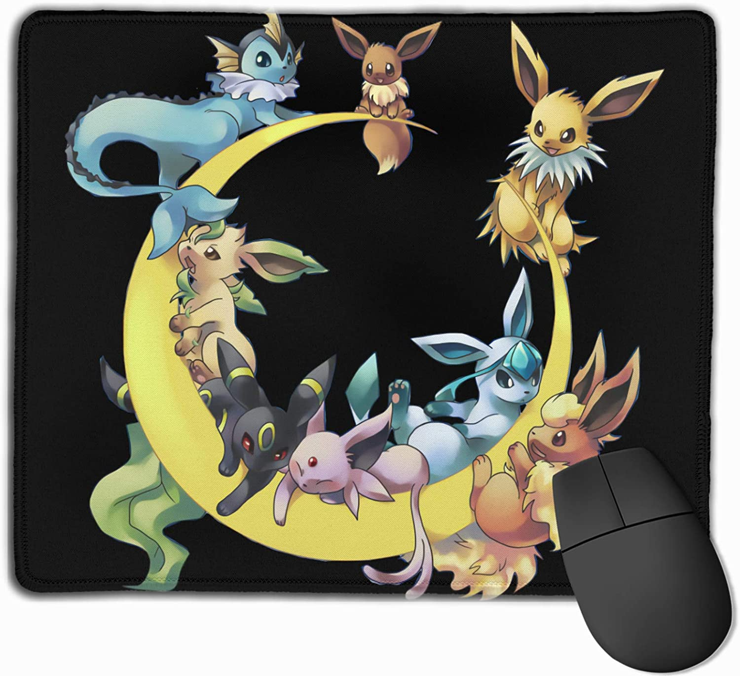 Ee-Vee Non Slip Rubber Mouse Pad 9.8 X 11.8 Inches