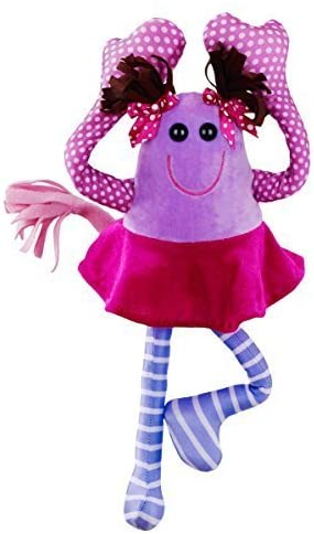 Lyla Tov Monsters - Charlotte - Snuggly Plush Toy Perfect Item to Help Your Child get Good Night's Sleep. Made by a Kid – for Kids!