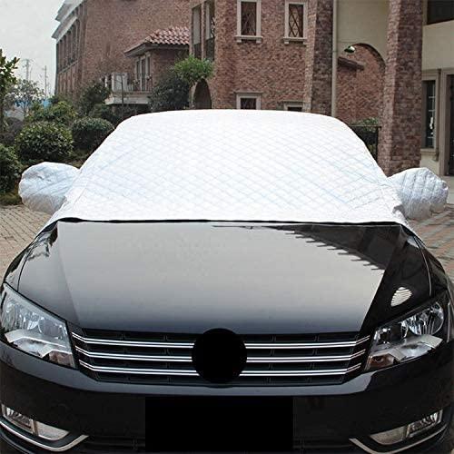 Car Exterior Accessories Great Car Half-Cover Car Clothing Sunscreen Heat Insulation Sun Nisor, Plus Cotton Size: 4.5x1.8x1.7m