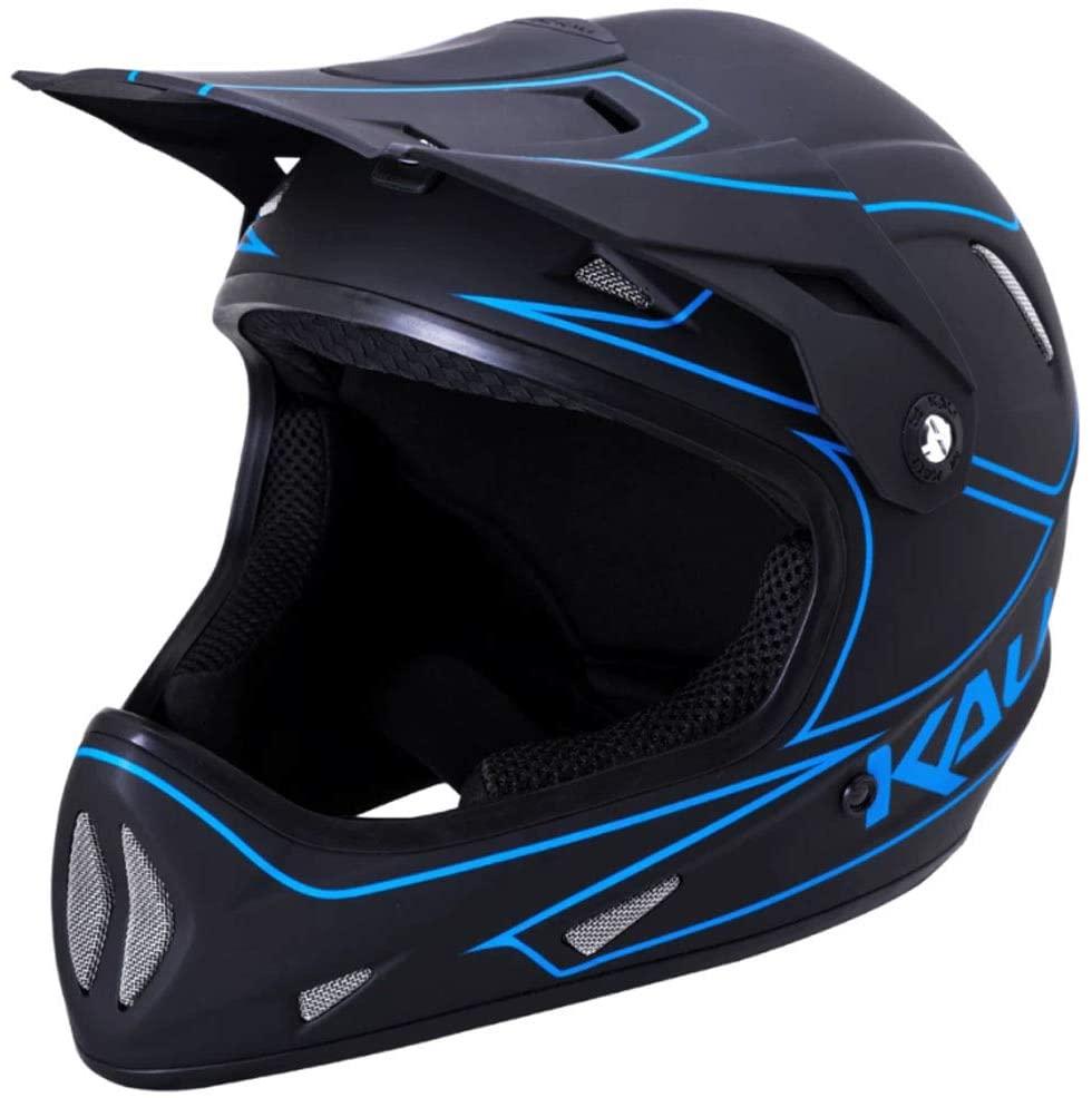 Kali Protectives Alpine Full-Face Helmet Rage Matte Black/Blue, S