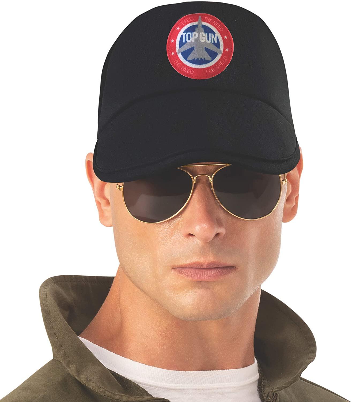 Rubie's Unisex-Adults (Classic Movie) Top Gun Cap, As Shown, One Size