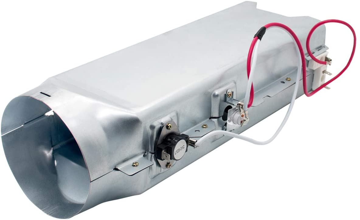 5301EL1001A Dryer Heating Element Assembly by Sikawai for LG Kenmore Replaces 1377645 AP5072170 PS3527790 EAP3527790 AP4439759 PS3527791 5301EL1001J
