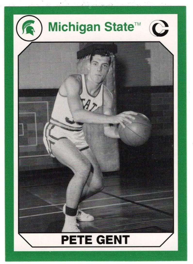 Pete Gent (Multi-Sports Card) 1990 Michigan State Collegiate Collection 200 - # 130 Mint