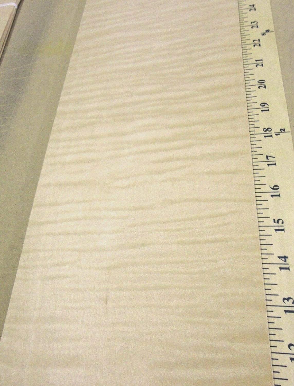 Curly Maple Figured Tiger wood veneer 6