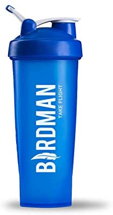 BIRDMAN Blue Shaker Bottle - Take Flight