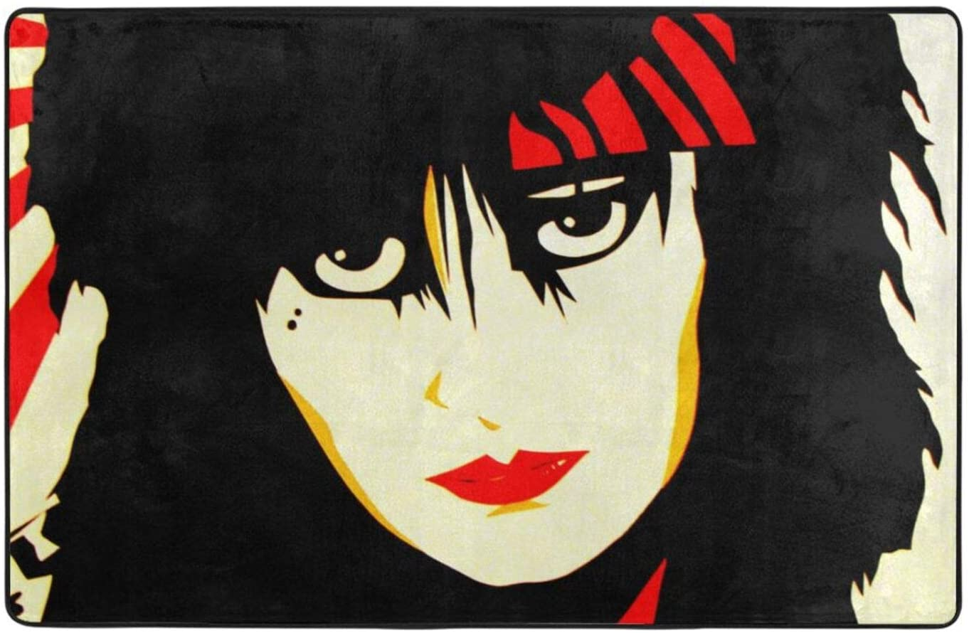 Scbs9gc08 Super Cozy Flannel Doormats Siouxsie and The Banshees Graphic Modern Home Decoration Non Slip Welcome Carpet 60 X 39 Inch