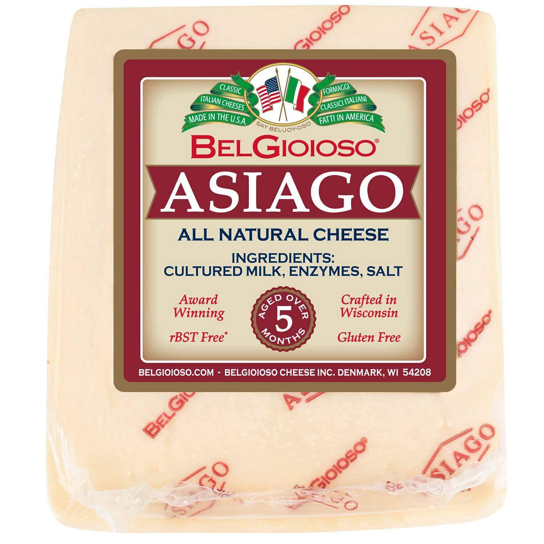 Evaxo Asiago Cheese Wedge 1 pk. / 2 lbs