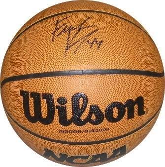 Frank Kaminsky signed NCAA Wilson Indoor/Outdoor Basketball (Wisconsin Badgers) - Autographed College Basketballs