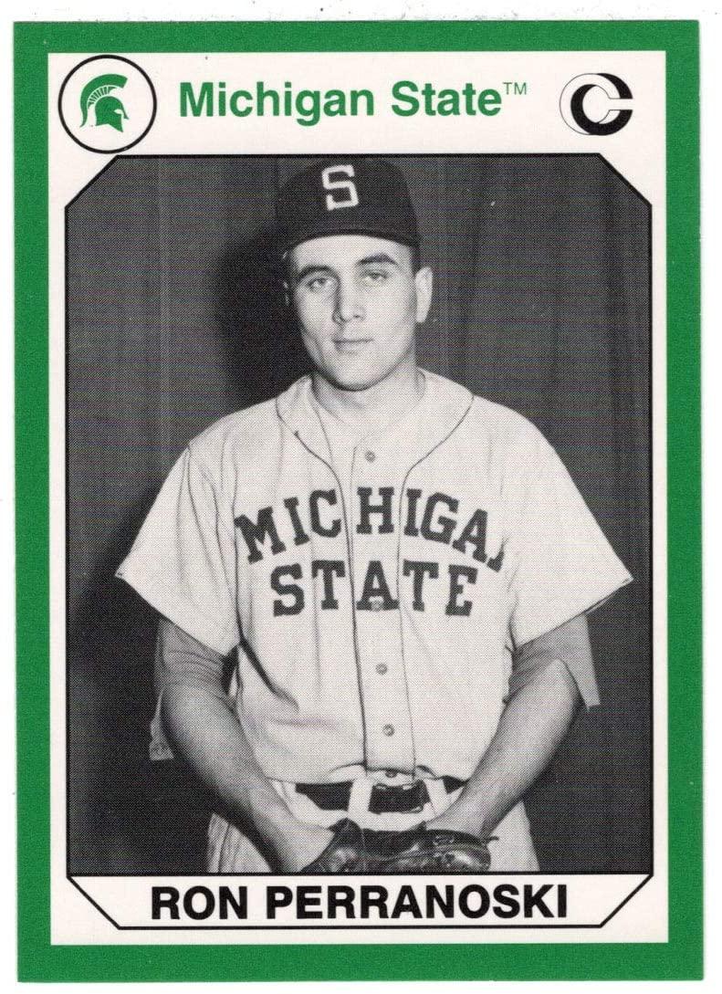 Ron Perranoski (Multi-Sports Card) 1990 Michigan State Collegiate Collection 200 - # 114 Mint