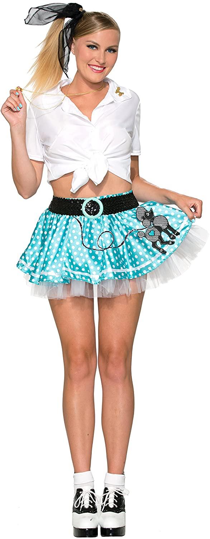 Forum Novelties Women's Mini Poodle Skirt Costume