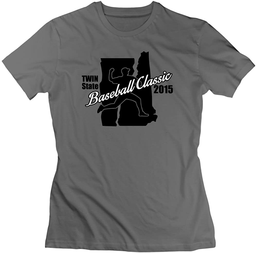 100% Cotton Womens Twin State Basketball Classic Vermont Tshirts