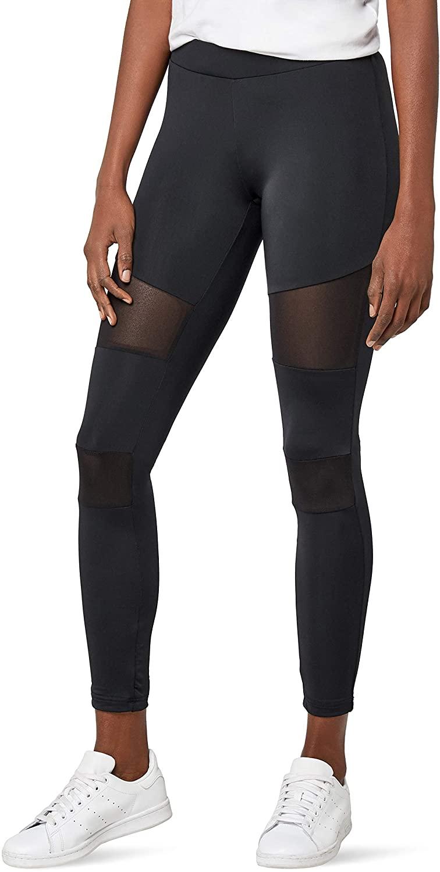 Urban Classics Ladies Tech Mesh Leggings with Net-Inlays