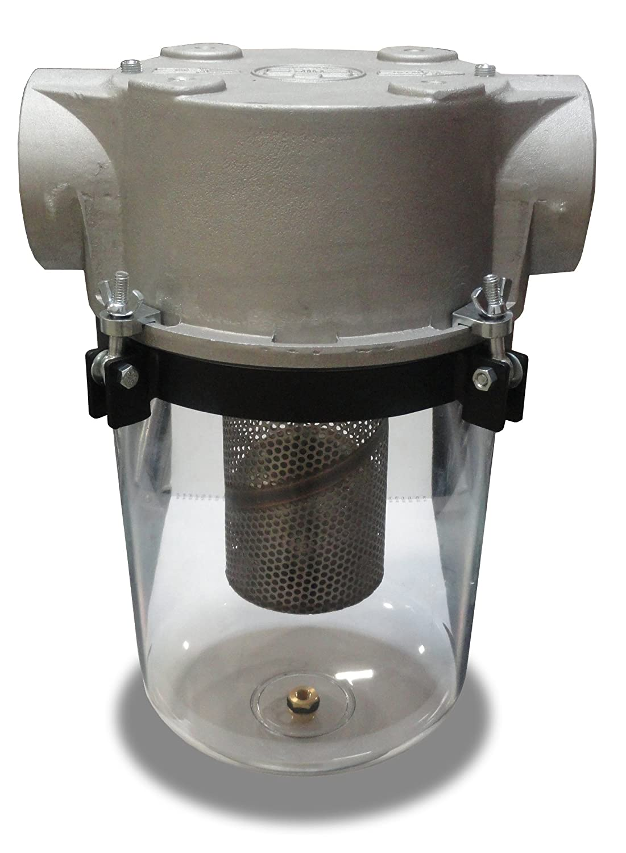 Solberg STS-300C Inlet See Through Liquid Separator Vacuum Pump Air Filter, 3