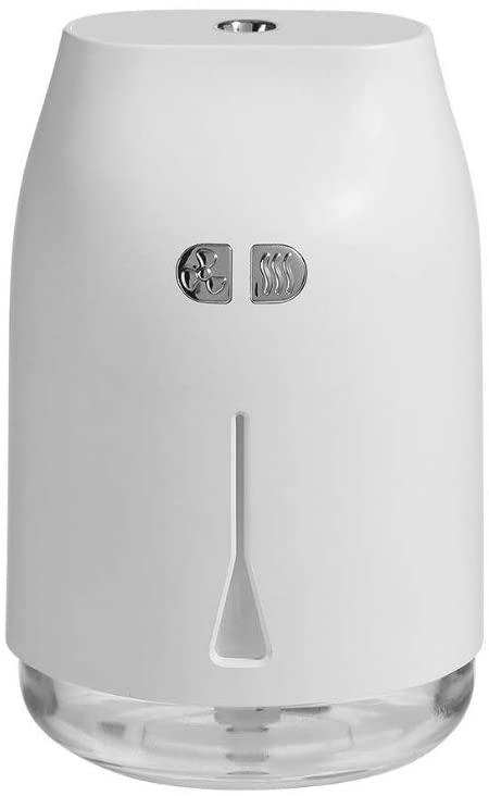 CUJUX U Clip Humidifier USB Mini Three in One Fan Night Light Car Home Desktop Creative Products