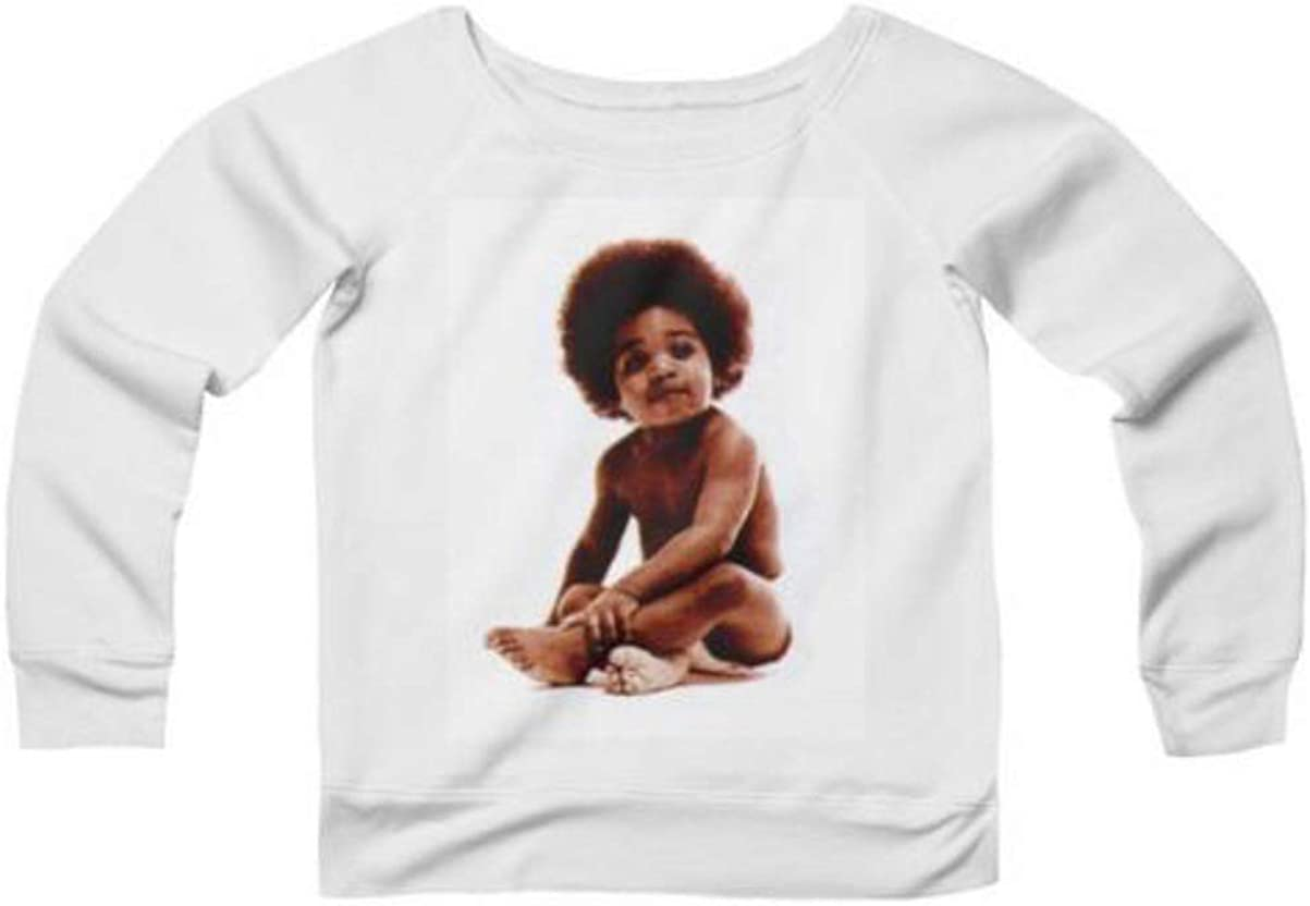 SydneyandSharaine Biggie Baby Wide Neck Sweatshirt