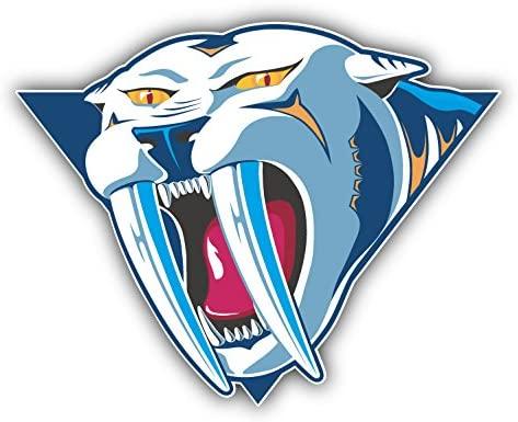 hotprint Predators Hockey - Nashville Head Logo Car Bumper Sticker Decal 5'' X 4''