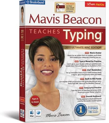 Mavis Beacon Teaches Typing - 2011 Ultimate Mac Edition