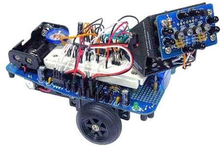 Electronix Express MR. General Robot KIT W/ Infrared Compound Eye