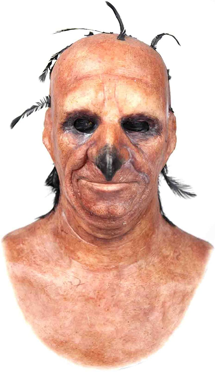 Mr Long Nose Silicone Mask Hand Made, Halloween, Realistic, Realistic Silicone Mask in Skin