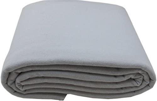 Anti-Tarnish Silver Cloth - Pre-Cut by The Yard - Light Gray (1 Yard by 58)