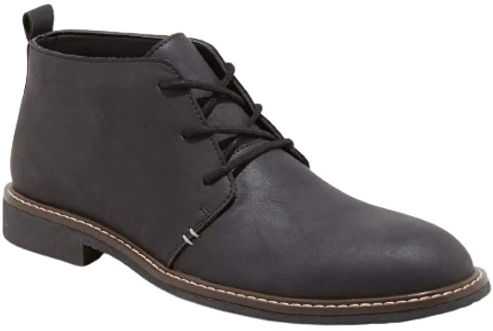 Goodfellow & Co Men's Granger Chukka Boots (Black, Size 10.5)