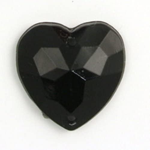 Impex Heart Diamante Jewels - per Pack of 9