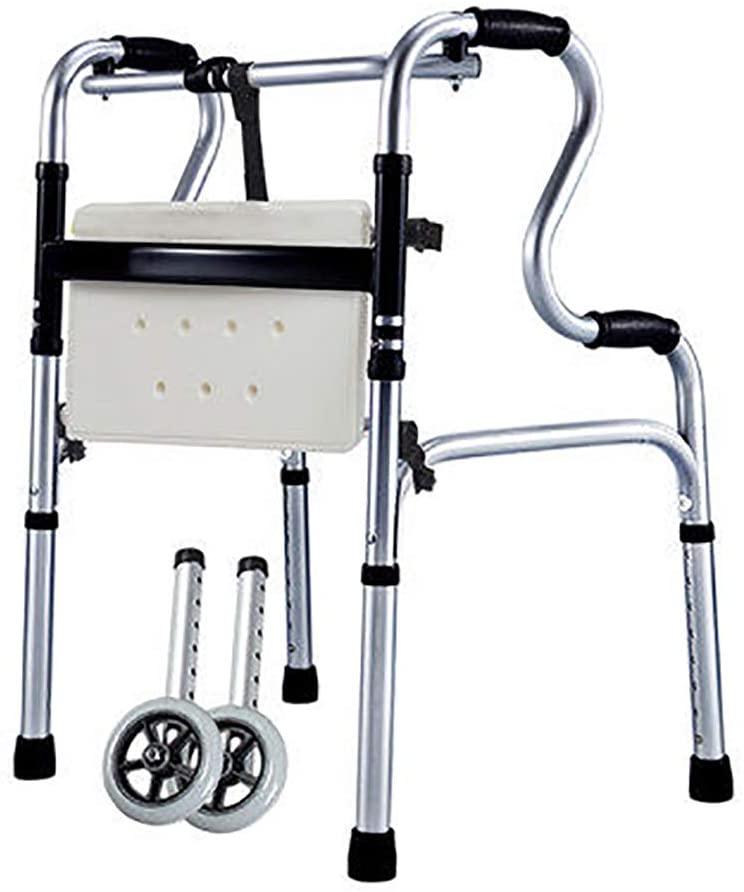 PANYFDD Elderly Crutches Walker, Multi-Function Square Foot Walker, Lightweight Crutches Elderly Disabled Patient (Color : #2)