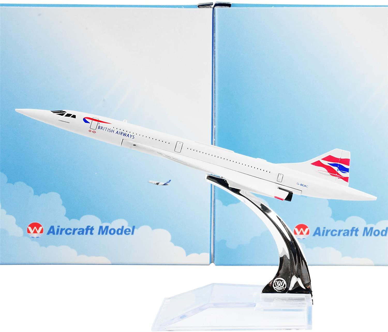 Lose Fun Park British F-BVFB 16cm Metal Airplane Models Child Birthday Gift Plane Models Home Decoration