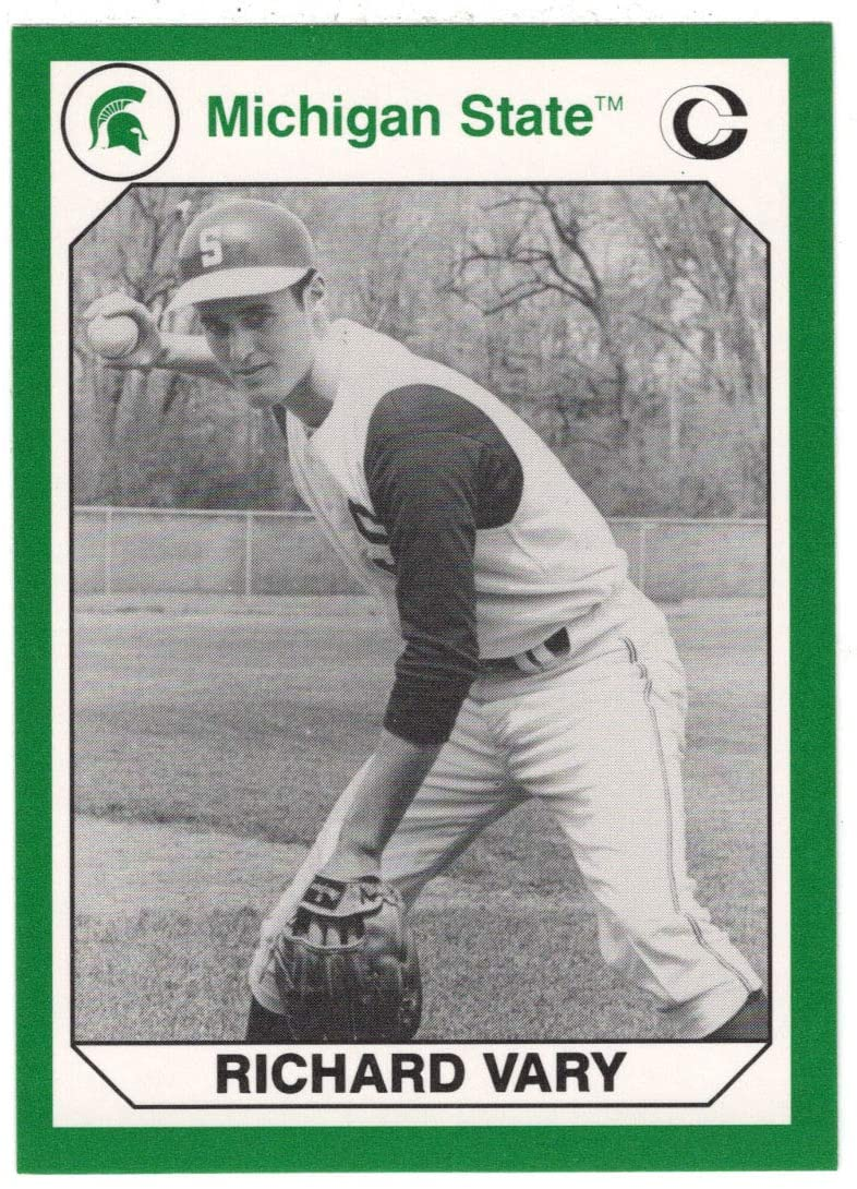 Richard Vary (Multi-Sports Card) 1990 Michigan State Collegiate Collection 200 - # 165 Mint