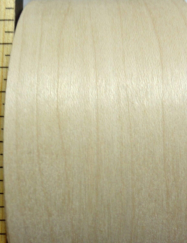 Maple wood veneer edgebanding roll 4.5 x 120 with preglued adhesive 4-1/2