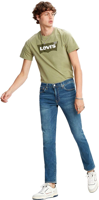 Levi's Men's 511 Slim Jeans, Blue, 33W x 30L