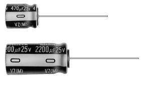 Aluminum Electrolytic Capacitors - Leaded 22uF 16V 20% 105c (1 piece)
