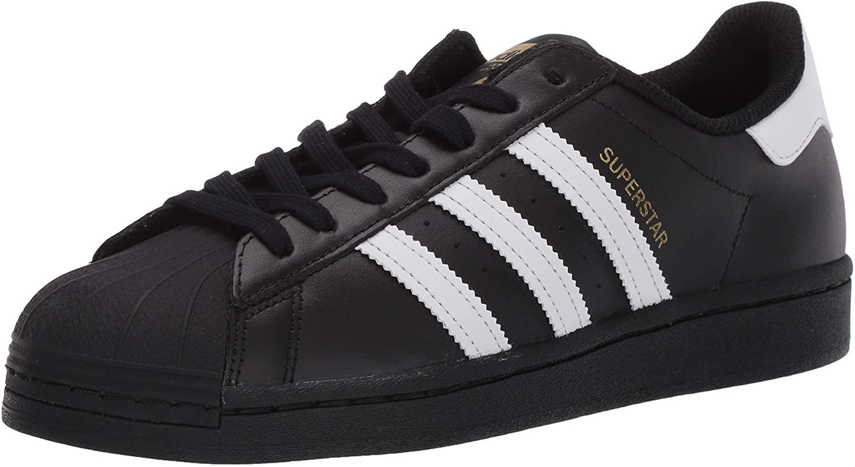 adidas Originals Men's Superstar Shoe Running Core Black/Footwear White/Core Black, 8 D(M) US