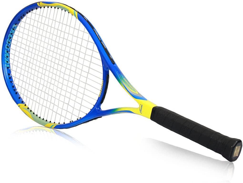 1 Pcs Carbon Fiber Tennis Racket Tenis Masculino Raquete De Tenis Grip Size 4 3/8 Inch Os Racket Surface