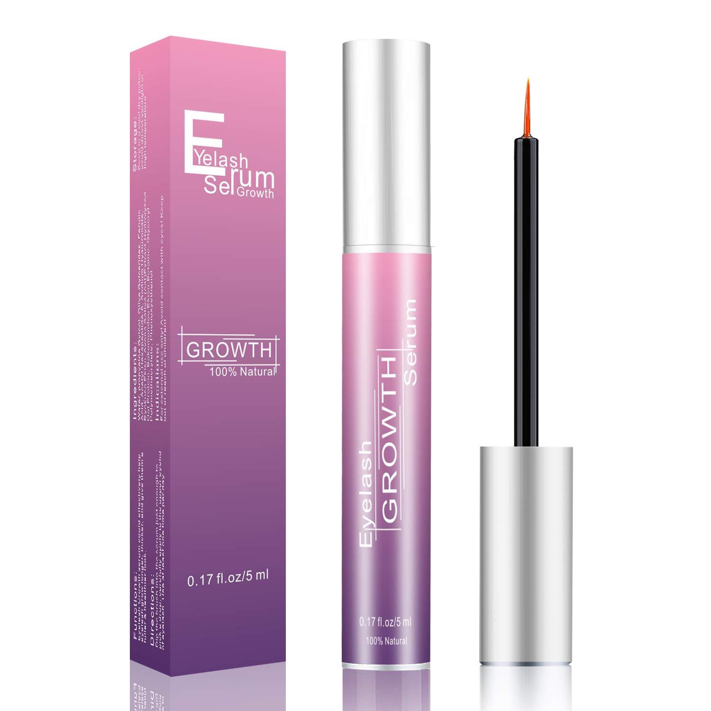 HCIDIH Eyelash Growth Serum& Brow Serum for Longer, Fuller Thicker Lashes & Brows,Brow & Lash Enhancing Formula Eyelash Growth Enhancer (5ML)