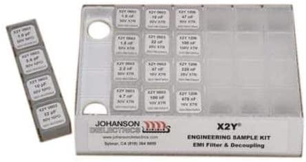 Capacitor Kits Cap DSGN KIT 0.2pF-10pF 10pcs (S111TVE)