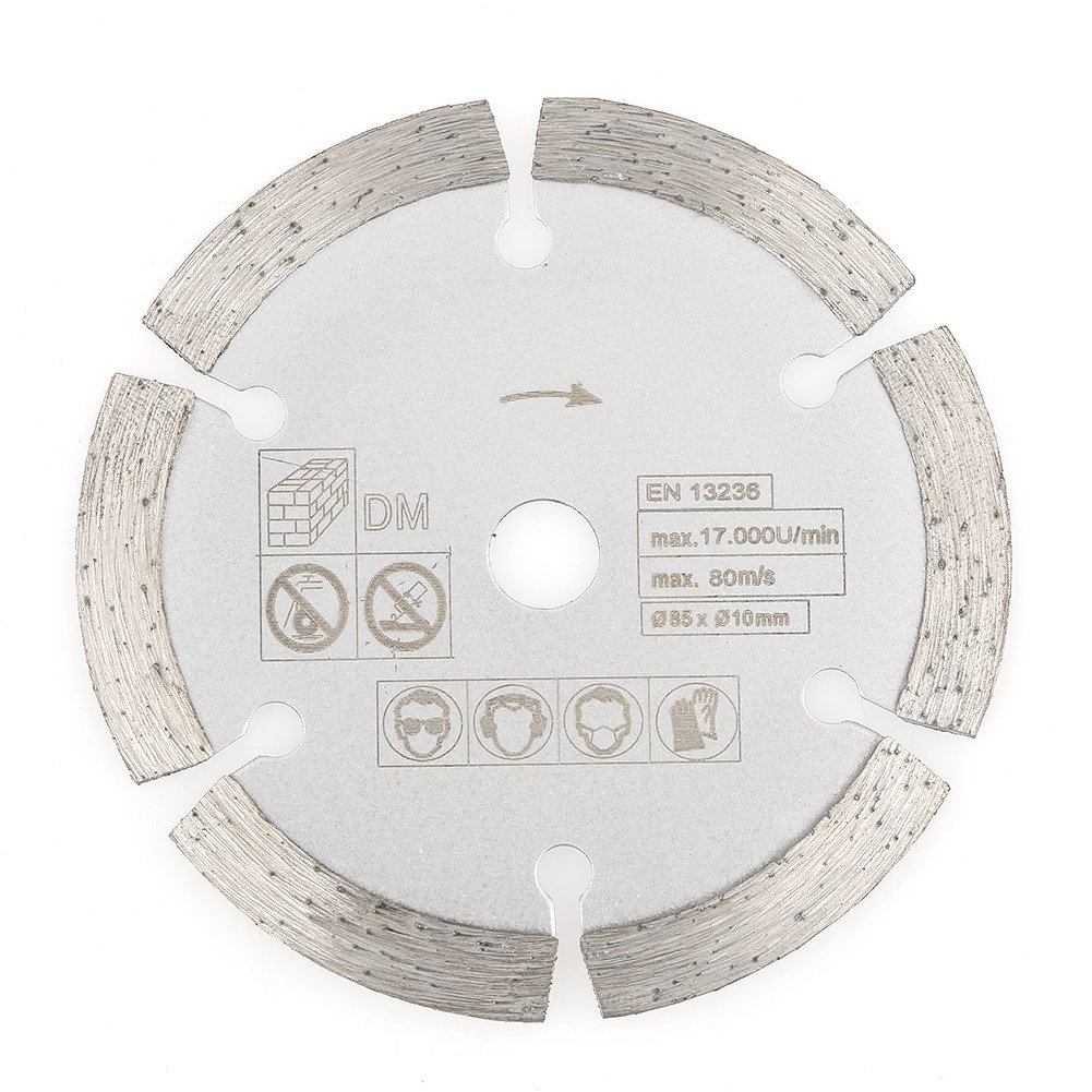 Circular Saw Blade,85mm x 10mm Diamond Circular Cut Saw Woodworking Rotary Tool Cutting Disc Super Hard,Stability and Durability for Rotating Tools,Woodworking Cutting