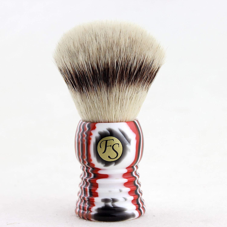 FS Frank shaving Synthetic hair shaving brush for Personal and Professional Shaving(bulb Shape Knot:25 mm)