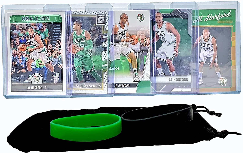 Al Horford Basketball Cards Assorted (5) Bundle - Philadelphia 76ers Trading Card Gift Pack