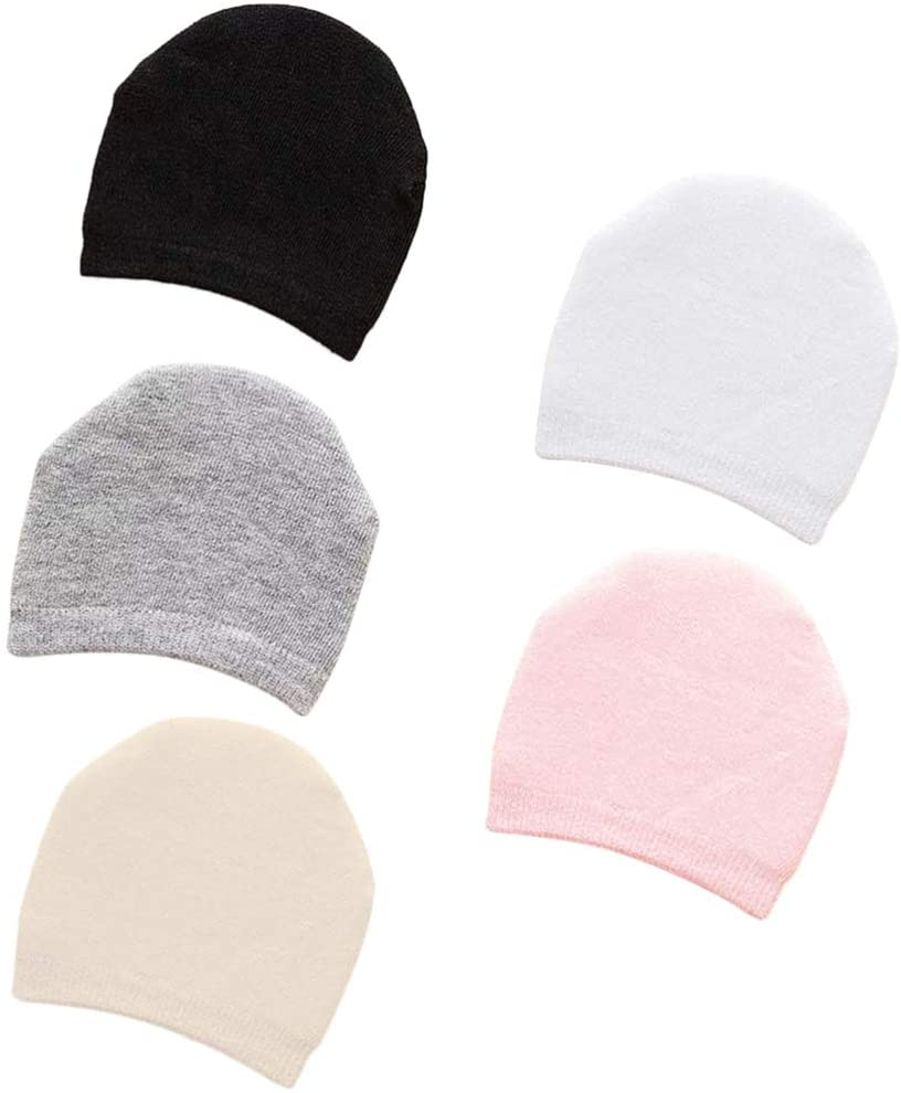 EXCEART 10 Pairs Toe Topper Liner Socks Invisible No Show Liner Socks Seamless Half Socks for Women (Black White Pink Grey Beige)
