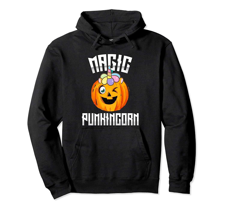 Magic Pumpkincorn Cute Unicorn Pumpkin Halloween Shirt Pullover Hoodie