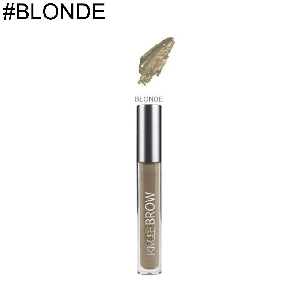 E-House Waterproof Eyebrow Tattoo Pen Glitter Eyeliner/Eyeliner Brush Natural-Looking Long Lasting Eyebrow Dye Gel Eye Brow Enhancer Tint Cream Makeup - #BLONDE
