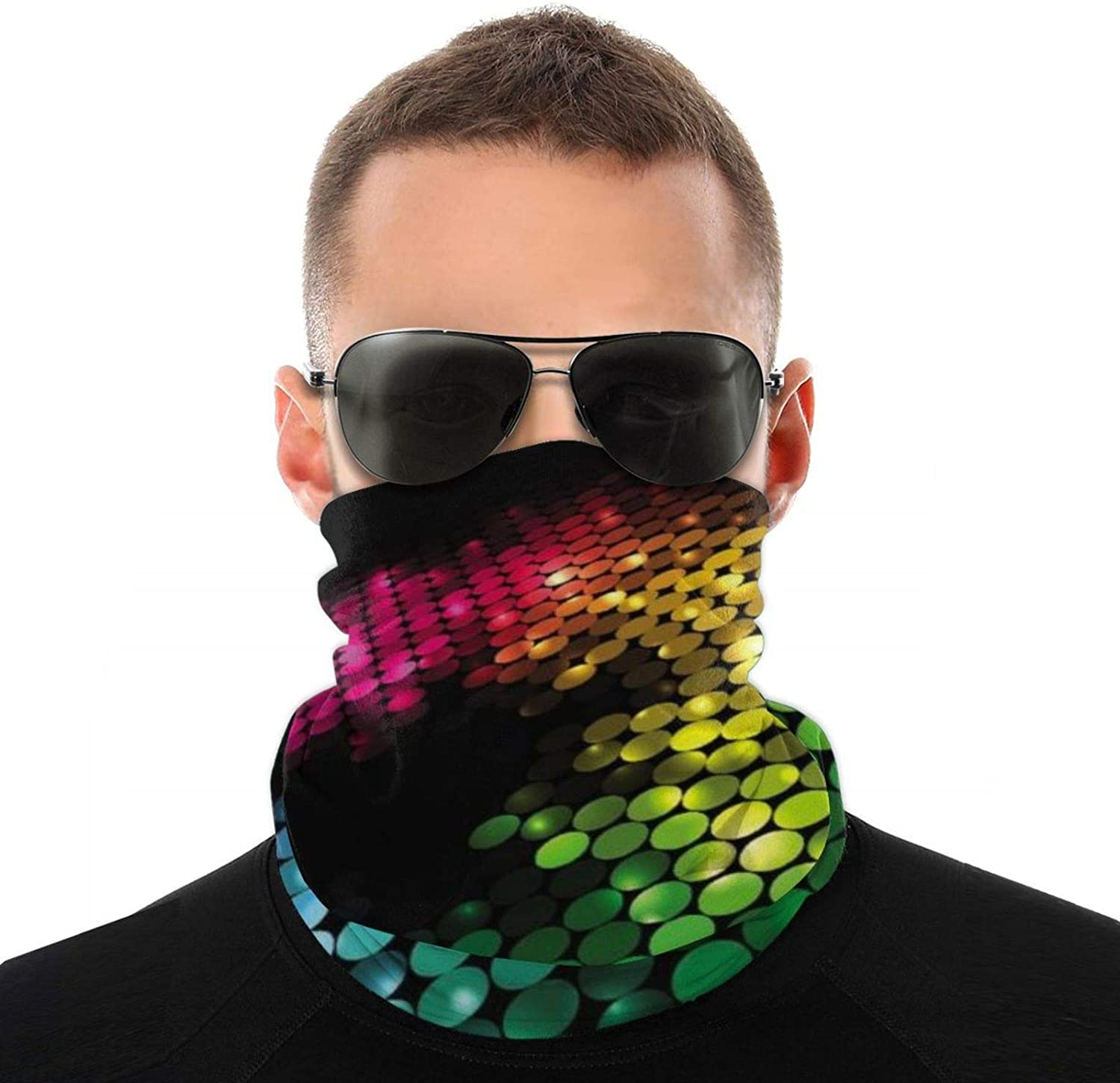 Thermal Neck Warmer Winter Sports Gaiter Face Mask Hat Scarf